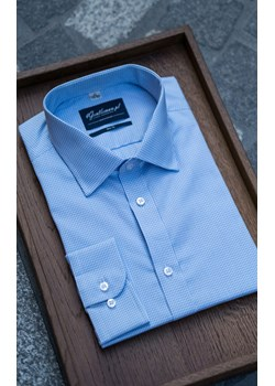 Koszula Błękitna Pepitka  4 Gentleman  - kod rabatowy