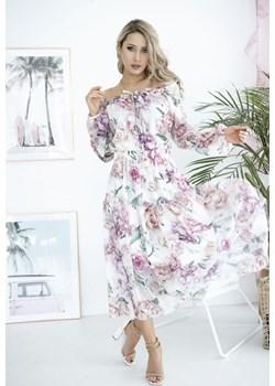 Szyfonowa sukienka ŻAKLIN Stella Vera - kod rabatowy