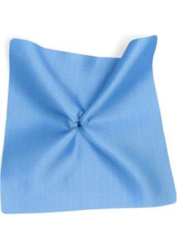 poszetka niebieska deseń szronu elegia Dobrze Dodane Dobrze Dodane - kod rabatowy