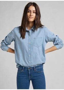 Koszula Damska ONE POCKET niebieska Lee wyprzedaż Texas Club - kod rabatowy