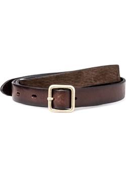 Pasek Lee Small 90S Belt Dark Brown Lee wyprzedaż Texas Club - kod rabatowy