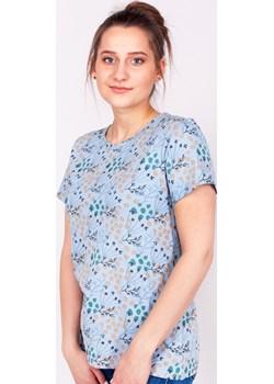 Podkoszulka t-shirt bawełniany damski szary jesień  S Yoclub YOCLUB - kod rabatowy