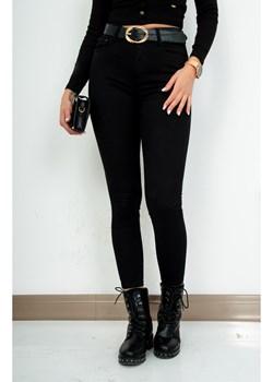 Spodnie Simple Black wysoki stan zoio.pl okazja - kod rabatowy