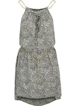 Sukienka w panterkę z łańcuszkiem Kafrim.pl kafrim.pl - kod rabatowy