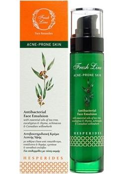 HESPERIDES - Emulsja do twarzy do cery trądzikowej o działaniu antybakteryjnym z olejkami z drzewa herbacianego i eukaliptusa Glow Up Shop Glow Up Shop  - kod rabatowy