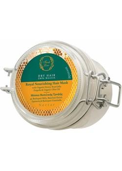 NECTAR - Maska do włosów suchych z organicznym miodem i mleczkiem pszczelim Glow Up Shop Glow Up Shop  - kod rabatowy