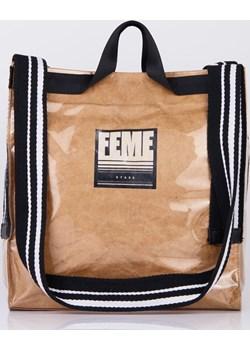 Sportowa torba na szerokich rączkach Femestage promocja Femestage - kod rabatowy
