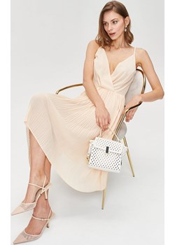 Romantyczna sukienka z plisowanym dołem Femestage okazja Femestage - kod rabatowy