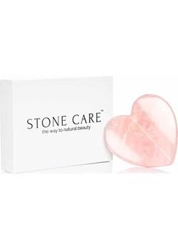 Kamień Płytka Serce Gua Sha z Kwarcu różowego STONE CARE™ Korean Store - kod rabatowy