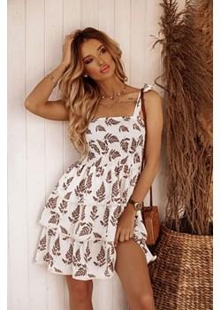 Sukienka Casablanca leaf Shopaholics Dream SHOPAHOLIC`S DREAM - kod rabatowy