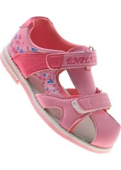Dziecięce sandały na rzepy Pink /E3-2 8705 S191/ Pantofelek24 okazyjna cena pantofelek24.pl - kod rabatowy