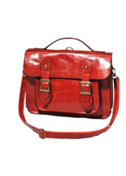 Czerwona torebka-listonoszka New Yorker newyorker czerwony listonoszki - kod rabatowy