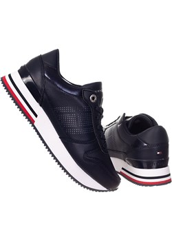 TOMMY HILFIGER BUTY DAMSKIE CORPORATE ACTIVE CITY SNEAKER NAVY FW0FW05800 DW5 Tommy Hilfiger messimo - kod rabatowy