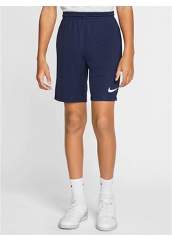Krótkie Spodenki Nike Sportowe Dziecięce WF Trening Granatowe Nike darcet - kod rabatowy
