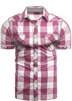 Koszula męska rsA2 jasny róż Risardi wyprzedaż Risardi - kod rabatowy