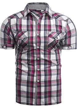 Koszula męska rsA2 ciemny róż Risardi promocja Risardi - kod rabatowy
