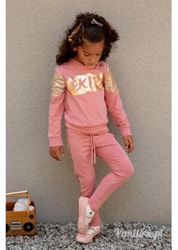 Komplet Dziewczęcy Ekipa Shine Gold Pink Vanilove - kod rabatowy