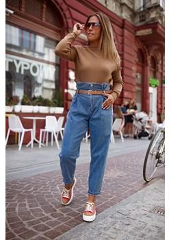 Spodnie jeansowe z wysokim stanem BASTET XL Shoq - kod rabatowy