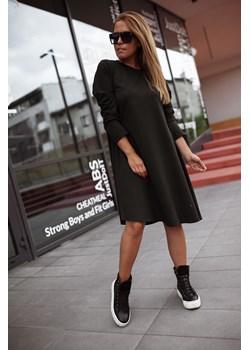 Dzianinowa sukienka BASTET XL Shoq - kod rabatowy