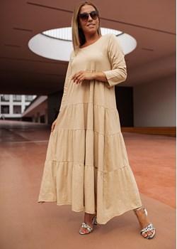 Maxi sukienka bawełniana BASTET S Shoq - kod rabatowy