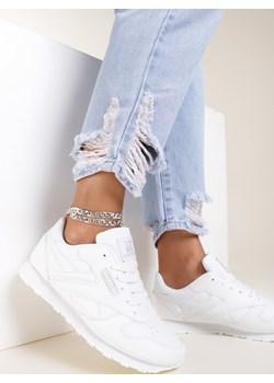 Białe Buty Sportowe Myron Renee  renee.pl - kod rabatowy