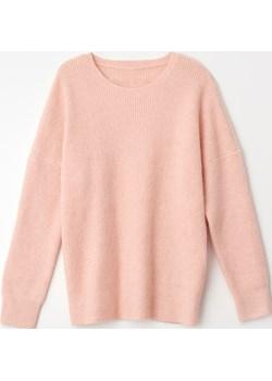 Mohito - Dzianinowy sweter oversize Eco Aware - Różowy Mohito Mohito - kod rabatowy