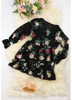Sukienka Dla Dziewczynki Sonia Black Vanilove - kod rabatowy
