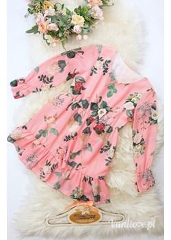Sukienka Dla Dziewczynki Sonia Pink Vanilove - kod rabatowy