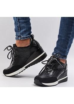 Czarne sneakersy półbuty damskie VINCEZA 10670 Suzana.pl suzana.pl okazja - kod rabatowy