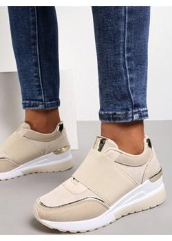 Beżowe Sneakersy Akhazriel Renee renee.pl - kod rabatowy