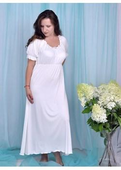 Długa koszula nocna, krótki rękaw, Chaber Equlik eQulik - bielizna nocna - kod rabatowy