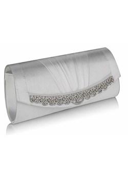 Kopertówka torebka wizytowa na wesele ślub! biała Evangarda.pl - kod rabatowy