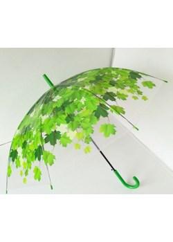 Liście - foliowa parasolka automatyczna LD20 Parasol Parasole MiaDora.pl - kod rabatowy