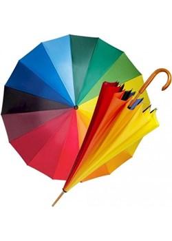 Tęcza - parasol długi z drewnianą rączką  Parasol Parasole MiaDora.pl - kod rabatowy