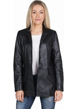 Damska kurtka skórzana, płaszcz STELLA black David Ryan David Ryan - kod rabatowy