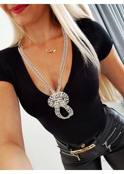Bluzka Anette Black Iwette Fashion Iwette Fashion - kod rabatowy