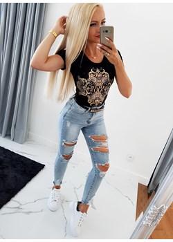 Bluzka Janette Gold Iwette Fashion Iwette Fashion - kod rabatowy