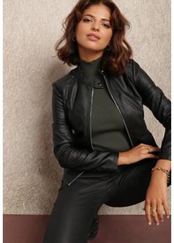 Czarna Ramoneska Damiopis Renee Renee odzież - kod rabatowy