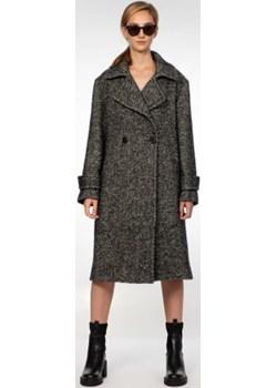 Wełniany płaszcz w jodełkę Ola Melcer Ola Melcer - kod rabatowy