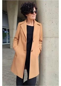 Płaszcz Cyntia Camelowy Butik Choice butik-choice - kod rabatowy