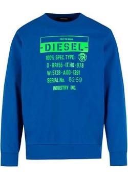 DIESEL BLUZA S-GRIK-S3 00SEGR 0KAXU | REGULAR FIT Diesel promocja minus70.pl - kod rabatowy