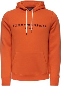 BLUZA MĘSKA TOMMY HILFIGER  LOGO ORANGE Tommy Hilfiger okazyjna cena zantalo.pl - kod rabatowy