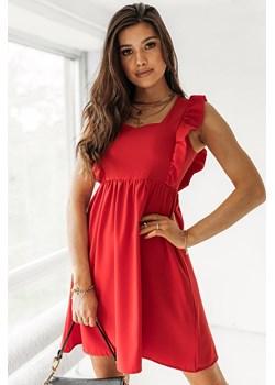 Sukienka Charo - czerwona Latika Butik Latika - kod rabatowy