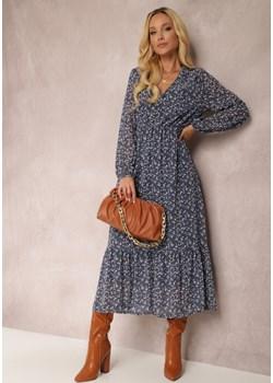 Granatowa Sukienka Erasakos Renee Renee odzież - kod rabatowy