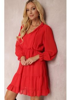 Czerwona Sukienka Kallarpia Renee Renee odzież - kod rabatowy