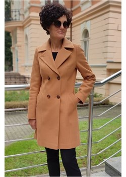 Płaszcz Dalia Camelowy Butik Choice butik-choice - kod rabatowy