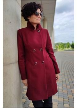 Płaszcz Dalia Bordowy Butik Choice butik-choice - kod rabatowy