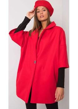 Płaszcz-CHA-PL-0409.30X-czerwony ajstyle.pl - kod rabatowy