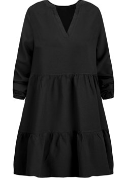 Rozkloszowana sukienka z falbaną Kafrim.pl kafrim.pl - kod rabatowy