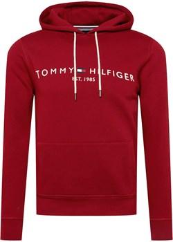 BLUZA MĘSKA TOMMY HILFIGER  LOGO BURGUND Tommy Hilfiger promocja zantalo.pl - kod rabatowy
